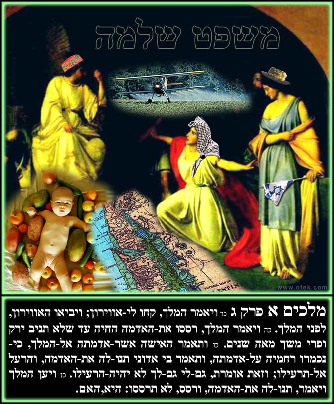 משפט שלמה king solomon's judgement